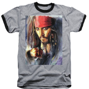 Jack Sparrow t-shirt by ElisP