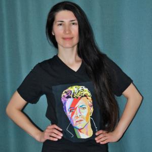 David Bowie t-shirt on ElisP
