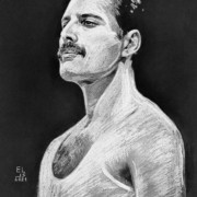 Freddie Mercury by Elis