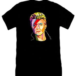 David Bowie t-shirt by Elisp