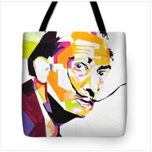 Salvador Dalí bag by Elis