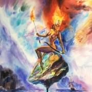 Fiery Space Amazon